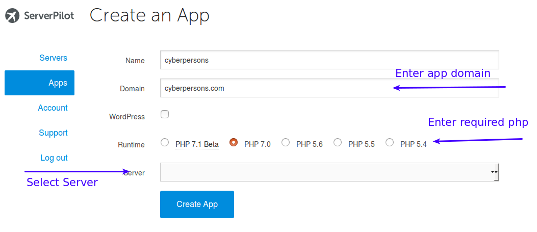create-simple-app